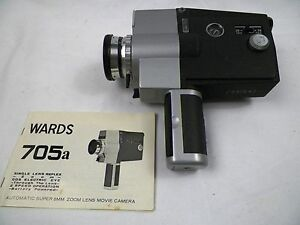 wards 705a automatic super 8mm zoom lens