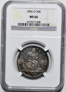 Click now to see the BUY IT NOW Price! 1856 O LIBERTY SEATED 50C NGC MS 66