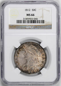 Click now to see the BUY IT NOW Price! 1812 CAPPED BUST 50C NGC MS 66