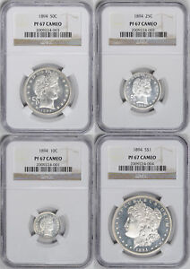 Click now to see the BUY IT NOW Price! 1894 PROOF SET NGC PR RAW