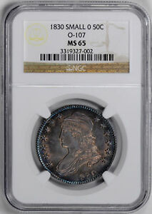 Click now to see the BUY IT NOW Price! 1830 CAPPED BUST 50C NGC MS 65