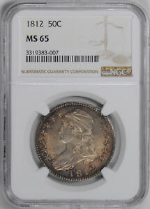 Click now to see the BUY IT NOW Price! 1812 CAPPED BUST 50C NGC MS 65