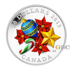 Click now to see the BUY IT NOW Price! CANADA 2013 20$ CANDY CANE CHRISTMAS VENETIAN GLASS 1OZ .999 FINE SILVER COIN