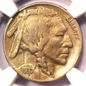1937 D 3 LEGS BUFFALO NICKEL 5C  THREE LEGGED    NGC VF DETAILS    COIN