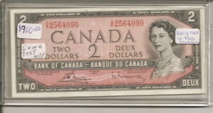 Click now to see the BUY IT NOW Price! 1954 CANADIAN BANK TEST NOTE GUNC S/R2564090