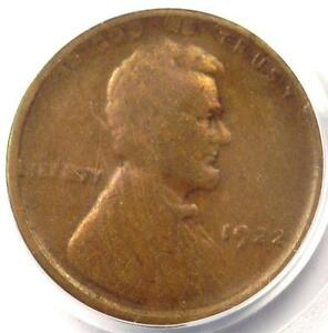 1922 NO D STRONG REVERSE LINCOLN WHEAT CENT 1C   PCGS F15