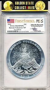 Click now to see the BUY IT NOW Price! 2012 HAWAII VOLCANOES NP ATB  PCGS MS69 DMPL FIRST STRIKE MERCANTI  POP 29