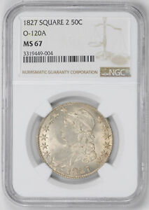 Click now to see the BUY IT NOW Price! 1827 CAPPED BUST 50C NGC MS 67