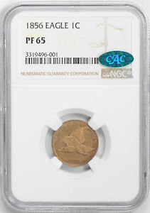 Click now to see the BUY IT NOW Price! 1856 FLYING EAGLE 1C NGC PR 65