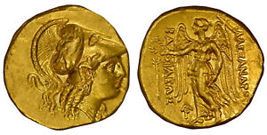 Click now to see the BUY IT NOW Price! GREEK. MACEDON. ALEXANDER III 328 320 BC AV STATER NGC CH. AU 4/5 4/5 FLAN FLAW