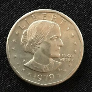 1979 D  SUSAN B ANTHONY LIBERTY ONE DOLLAR COIN  4   28