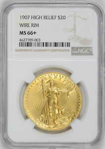 Click now to see the BUY IT NOW Price! 1907 ST. GAUDENS $20 NGC MS 66