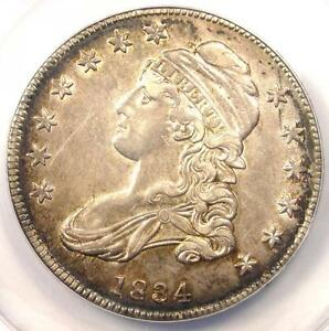 1834 CAPPED BUST HALF DOLLAR 50C   ANACS AU50 DETAILS    CERTIFIED COIN