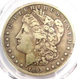 1895 S MORGAN SILVER DOLLAR $1   PCGS FINE DETAILS    DATE   CERTIFIED COIN