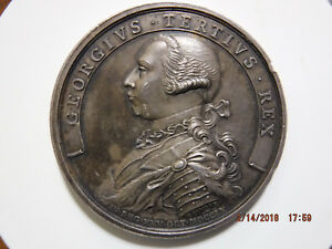 Click now to see the BUY IT NOW Price! GR BRITAIN UK GEORGE III 1760 ACCESSION OF GEORGE III SILVER MEDAL BHM 1 1820