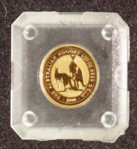 1998 AUSTRALIA 1/20TH TROY OUNCE GOLD NUGGET SERIES GOLD COIN ORIGINAL CAPSULE