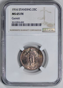 Click now to see the BUY IT NOW Price! 1916 STANDING LIBERTY 25C NGC MS 65 FH