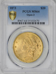 Click now to see the BUY IT NOW Price! 1873 LIBERTY HEAD $20 PCGS MS 64