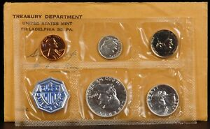 Click now to see the BUY IT NOW Price!  1960 UNITED STATES MINT PROOF SET W/LARGE DATE OVER SMALL DATE CENT