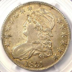1831 CAPPED BUST HALF DOLLAR 50C   PCGS AU DETAILS    CERTIFIED COIN