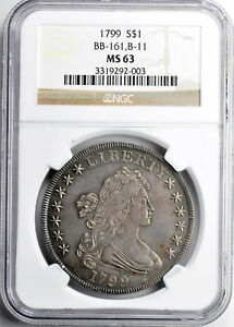 Click now to see the BUY IT NOW Price! 1799 BUST $1 NGC MS 63
