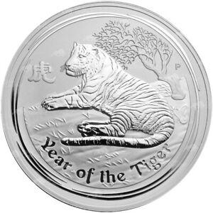 Click now to see the BUY IT NOW Price! 1 KG | KILO 2010 PERTH MINT LUNAR YEAR OF THE TIGER SILVER COIN