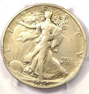 1920 S WALKING LIBERTY HALF DOLLAR 50C   PCGS VF30    KEY CERTIFIED COIN
