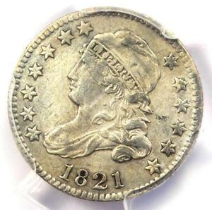 1821 CAPPED BUST DIME 10C   PCGS XF DETAIL  EF     EARLY CERTIFIED COIN