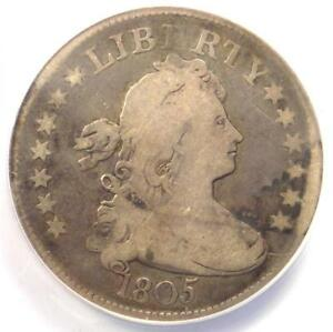 1805 DRAPED BUST QUARTER 25C   ANACS VG8    CERTIFIED COIN   $700 VALUE