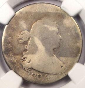 1806 DRAPED BUST QUARTER 25C   NGC AG DETAILS    EARLY CERTIFIED COIN