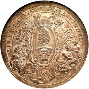 Click now to see the BUY IT NOW Price! 1741 IT GERMAN STATES AUGSBURG 2 TALER NGC MS 66 INCREDIBLE EXAMPLE GERMANY
