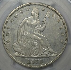 Click now to see the BUY IT NOW Price! 1870 CC 50C PCGS AU53