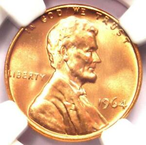1964 LINCOLN MEMORIAL CENT 1C PENNY  1964 P    NGC MS67 RD   $1 900  VALUE