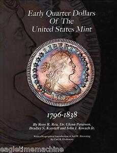 Click now to see the BUY IT NOW Price! QUARTER DOLLARS OF THE US MINT 1796 1838 HARDBOUND ALL COLOR NEW BOOK FREE SHIP
