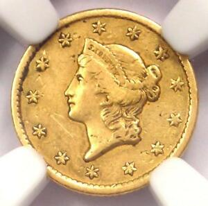 1854 S LIBERTY GOLD DOLLAR COIN G$1   CERTIFIED NGC XF DETAILS    DATE COIN