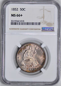 Click now to see the BUY IT NOW Price! 1852 LIBERTY SEATED 50C NGC MS 66