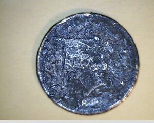 1842 US LARGE CENT POOR GRADE COPPER  US 2715