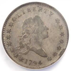 1794 FLOWING HAIR BUST HALF DOLLAR 50C   CERTIFIED NGC FINE DETAIL    COIN