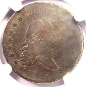 1795 FLOWING HAIR BUST HALF DOLLAR 50C O 130   NGC VG DETAILS    COIN
