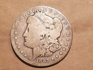 Click now to see the BUY IT NOW Price! 1887 O MORGAN SILVER DOLLAR LIBERTY HEAD $1 COIN ONE DOLLAR NICE