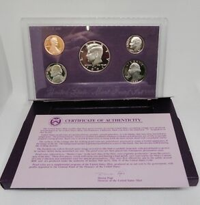1991S UNITED STATES MINT PROOF COIN SET