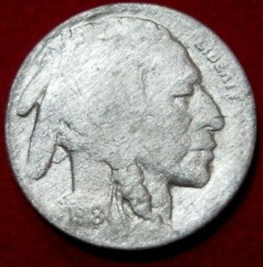 1918 S  BUFFALO NICKEL VF DETAILS RB2617 49 CENT SHIPPING ON 3