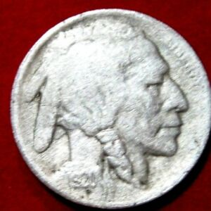 1920 S  BUFFALO NICKEL VF DETAILS RB2675 49 CENT SHIPPING ON 3