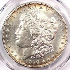 1888 S MORGAN SILVER DOLLAR $1   PCGS AU55   NICE LUSTER AND DETAIL    DATE