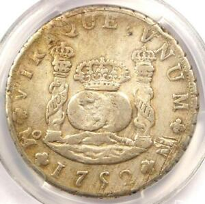 1752 MO MF MEXICO PILLAR DOLLAR 8 REALES COIN  8R    CERTIFIED PCGS VF35
