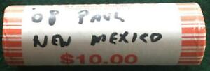 2008 P NEW MEXICO UNCIRCULATED STATEHOOD QUARTER 40 COIN ROLL