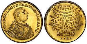 Click now to see the BUY IT NOW Price! GERMAN ST PRUSSIA FRIEDRICH WILHELM I 1721 L AV 8 DUCAT PCGSMS63 FR 2351 PL SURF