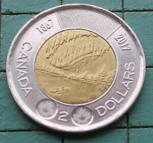 1 CANADIAN TWO DOLLAR