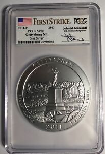 Click now to see the BUY IT NOW Price! 2011 P AMERICA THE BEAU. ATB GETTYSBURG NP 5 OZ PCGS SP70 FIRST STRIKE MERCANTI