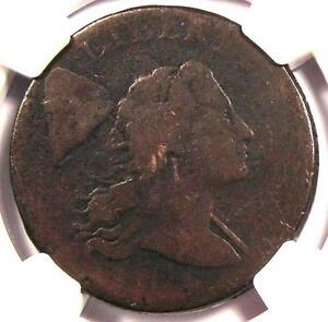 1794 HEAD OF 1794 S 42 LIBERTY CAP LARGE CENT 1C   NGC VG DETAILS    PENNY